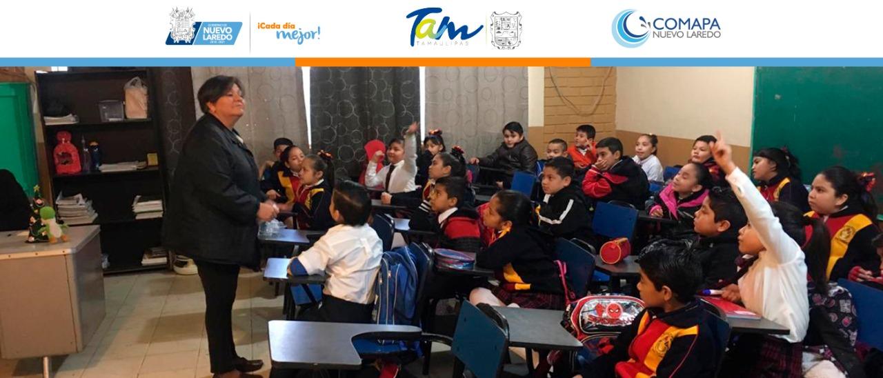 """Participa COMAPA en programa """"Escuela digna"""""""