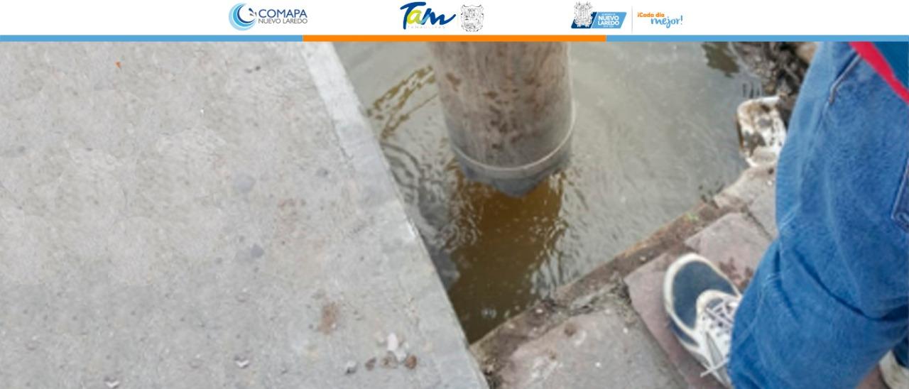 Resuelve COMAPA colapso de la red  de drenaje de la clínica 11 del IMSS