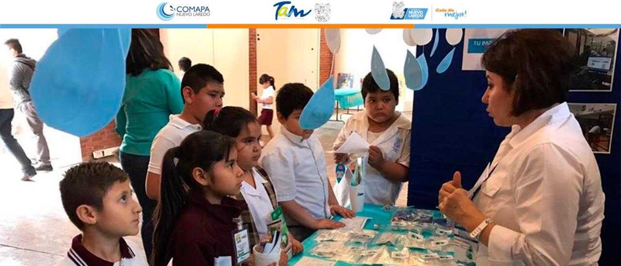 Anuncia COMAPA varias actividades para  conmemorar el Día internacional del Agua