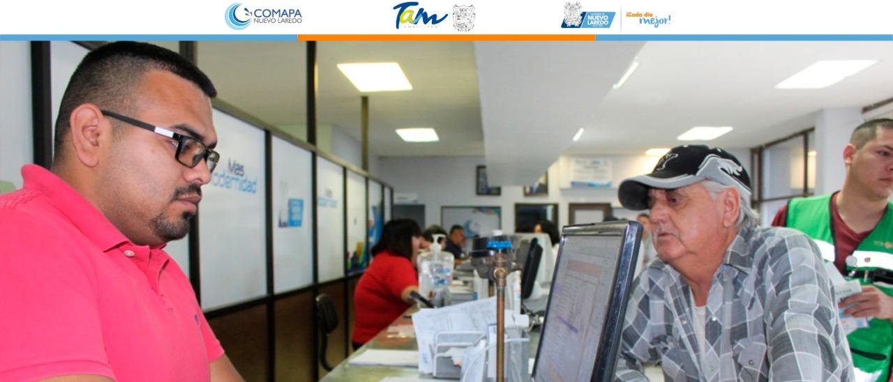 Usuarios pensionados deben renovar vigencia en Comapa