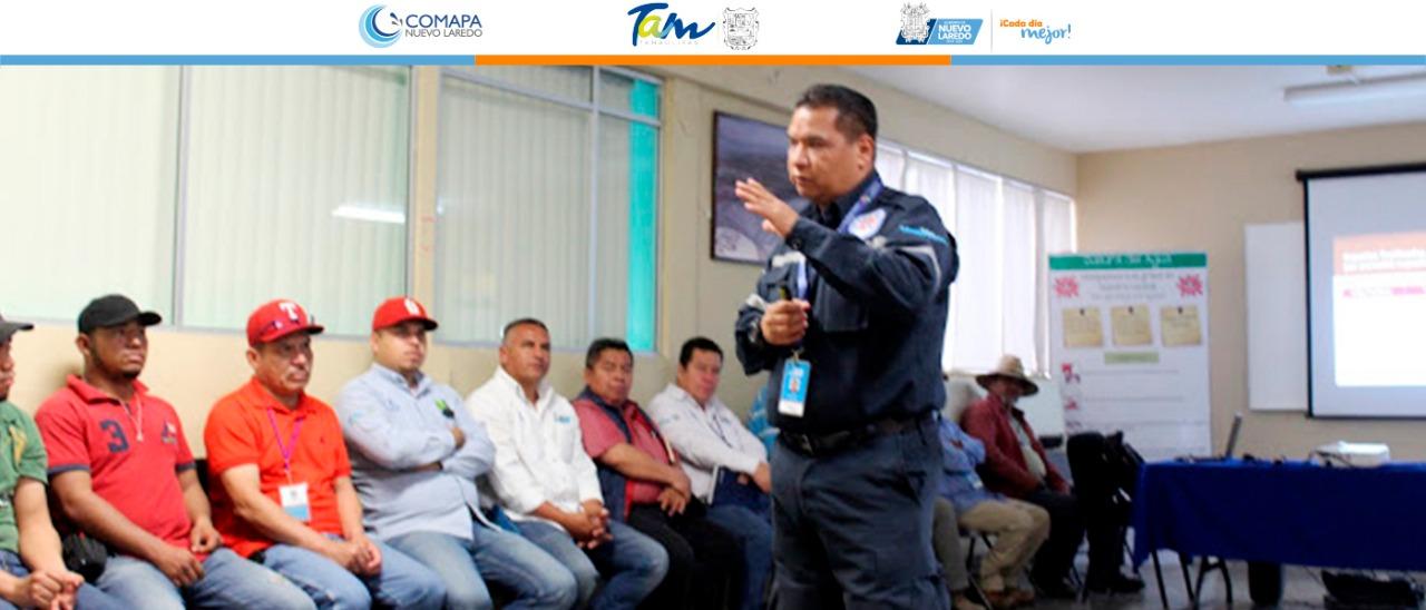 Capacita Protección Civil al personal de campo de Comapa