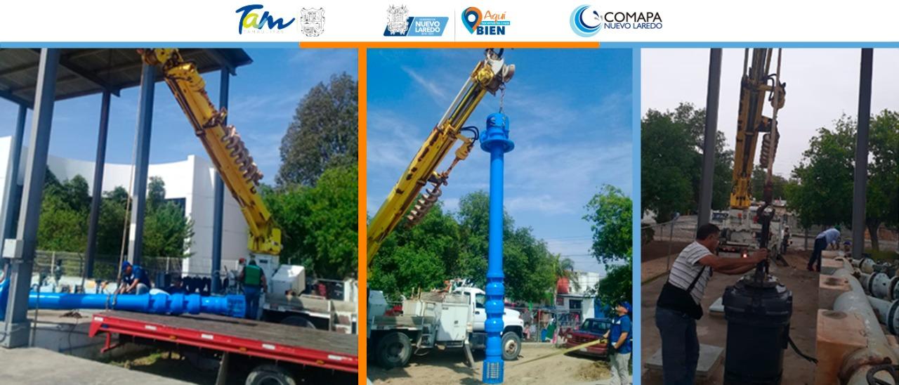 Recibe mantenimiento motor-bomba de cisterna Concordia de Comapa