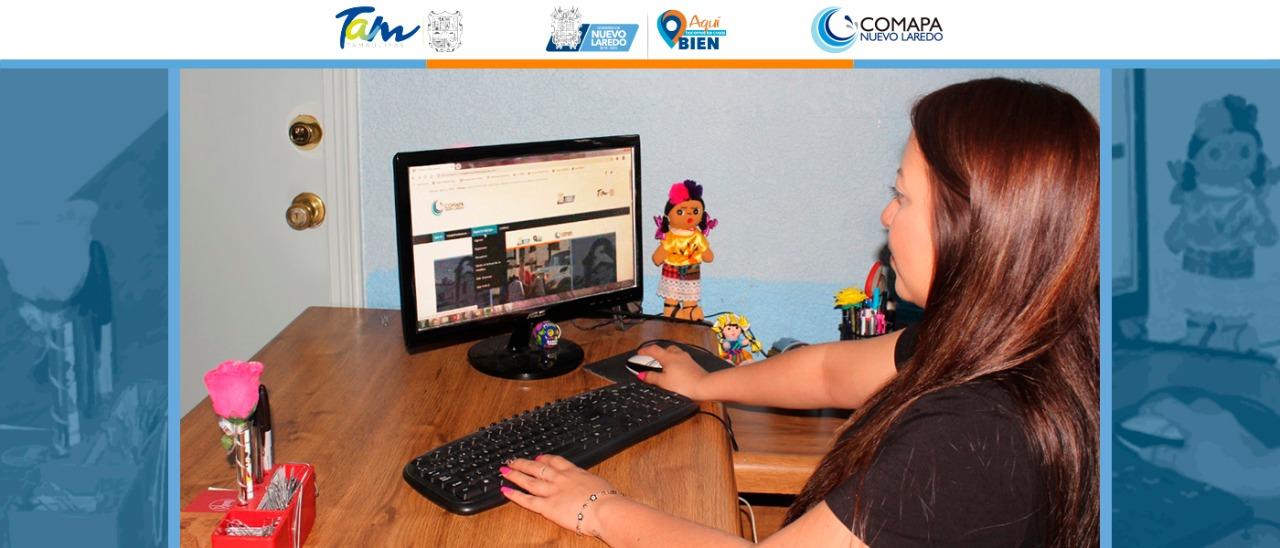 Pagan en línea recibos de Comapa más de 11 mil usuarios: Luis Moreno