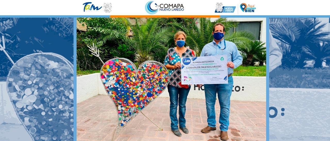 Apoya COMAPA en la lucha contra el cáncer infantil.