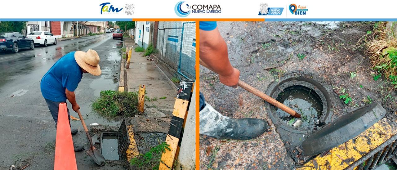 COMAPA se prepara para el periodo de lluvias