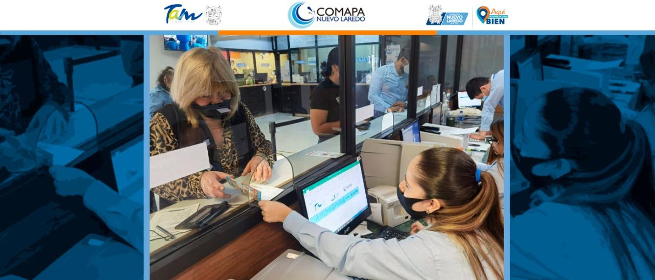 Usuarios de COMAPA se benefician con programa de quita de recargos