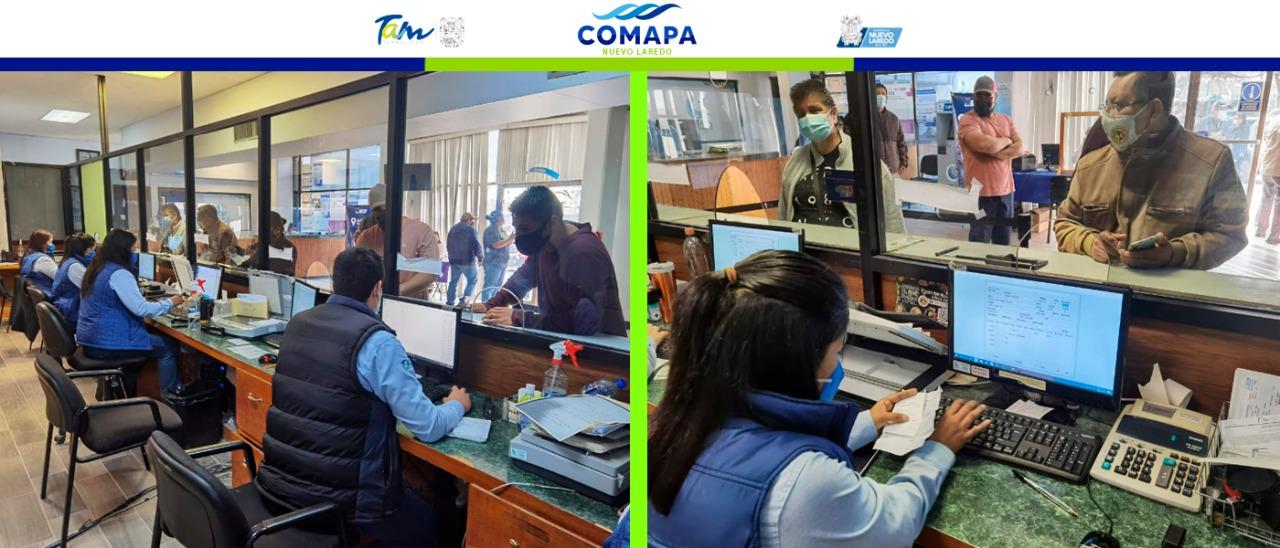 Continúan los beneficios en COMAPA con programa de quita de recargos